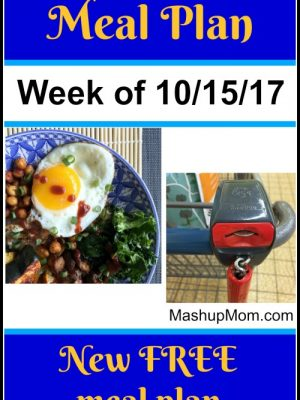 Free ALDI Meal Plan week of 10/15/17 – 10/21/17