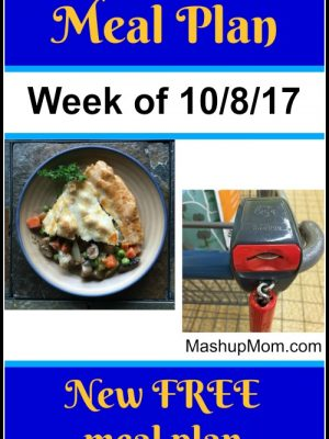 Free ALDI Meal Plan week of 10/8/17 – 10/14/17