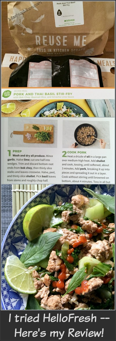 For Sale Brand New Hellofresh Meal Kit Delivery Service