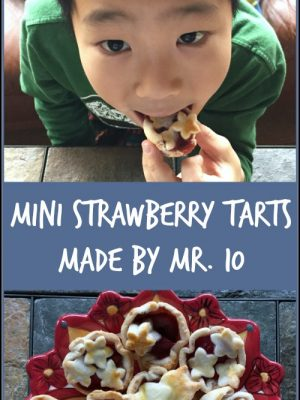 Mini Strawberry Tarts, Made By Mr. 10