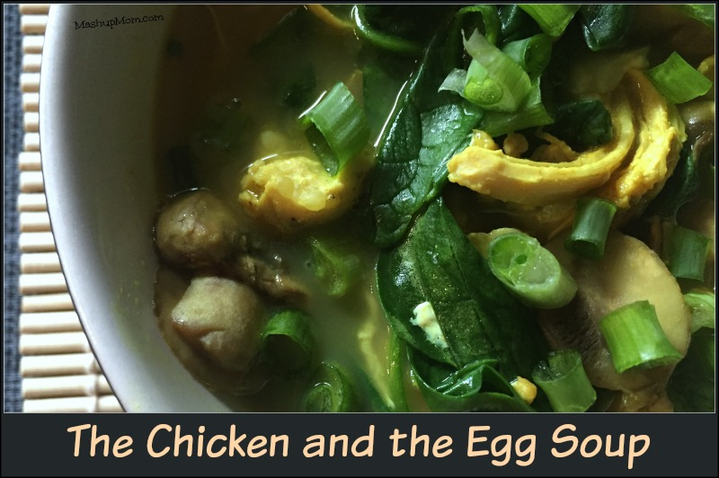 The Chicken and The Egg Soup is salty, filling, comforting, just spicy enough, and just… Well, it's all the things. Low carb, optionally gluten free, easy 30 minute weeknight dinner recipe.