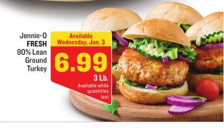 Free ALDI Meal Plan week of 1/7/18 - 1/13/18