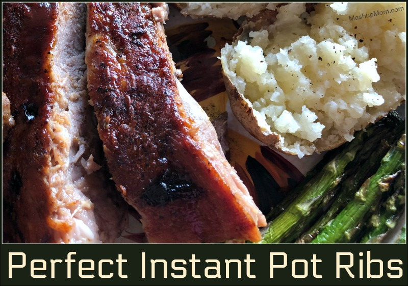 Perfect Instant Pot Ribs, anyone? Here's how to make ribs in the Instant Pot: Simply season with your own favorite spice mix, cook them tender in the Instant Pot, then brush with BBQ sauce and finish under the broiler (or on the grill) to caramelize the sauce. Ribs in 75 minutes, including the time to come to pressure!