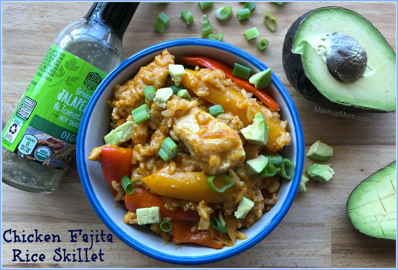 One pot meals for the win: This one pan chicken fajita rice skillet recipe has fajita flavor infused into every bite, and is naturally gluten free. You've heard of chicken burrito bowls -- Now, let's cook up some chicken fajita bowls for a change for pace in this easy chicken fajita rice bowls recipe!