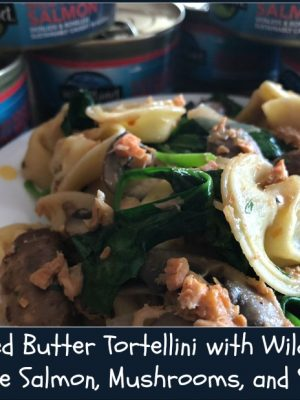 Yum! Wild Planet Salmon rocks in this Tortellini Recipe — and more