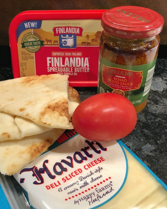 naan grilled cheese ingredients