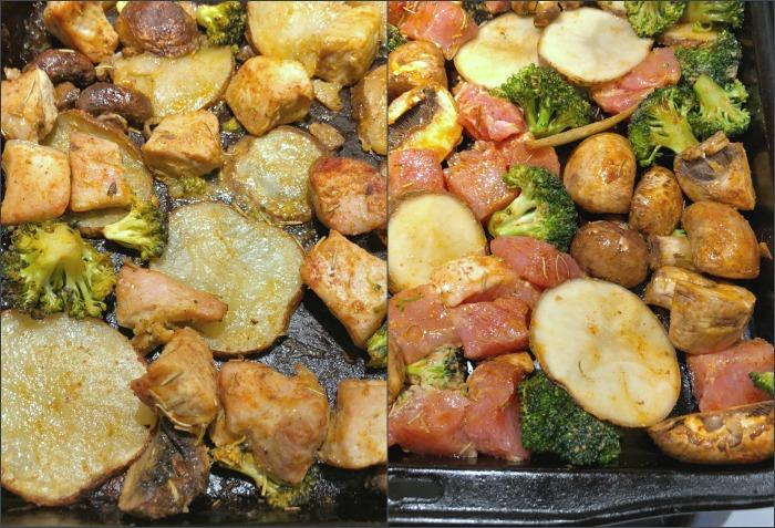 sheet pan pork & potatoes