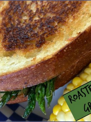 Roasted Asparagus Grilled Cheese Sandwiches