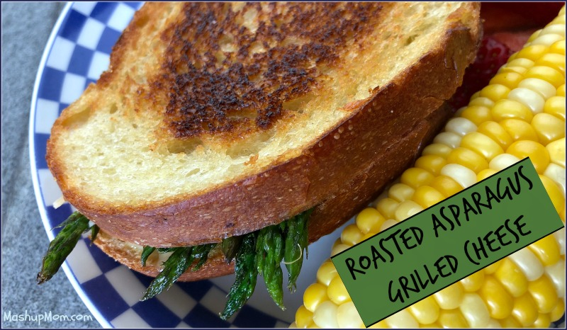Try these Roasted Asparagus Grilled Cheese Sandwiches the next time you pick up some fresh asparagus! In this Meatless Monday grown-up grilled cheese recipe, Havarti pairs so well with asparagus, while Parmesan adds just a bit of a salty kick and Dijon a little tang that takes these sandwiches up another notch.