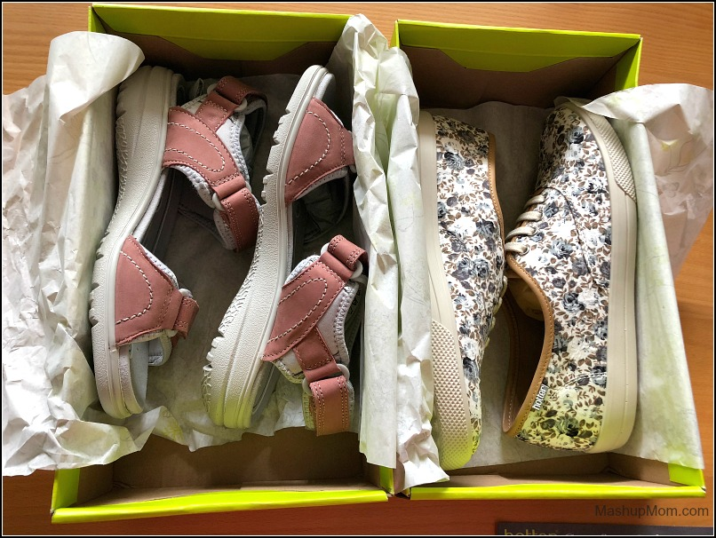 two pairs of new Hotter shoes