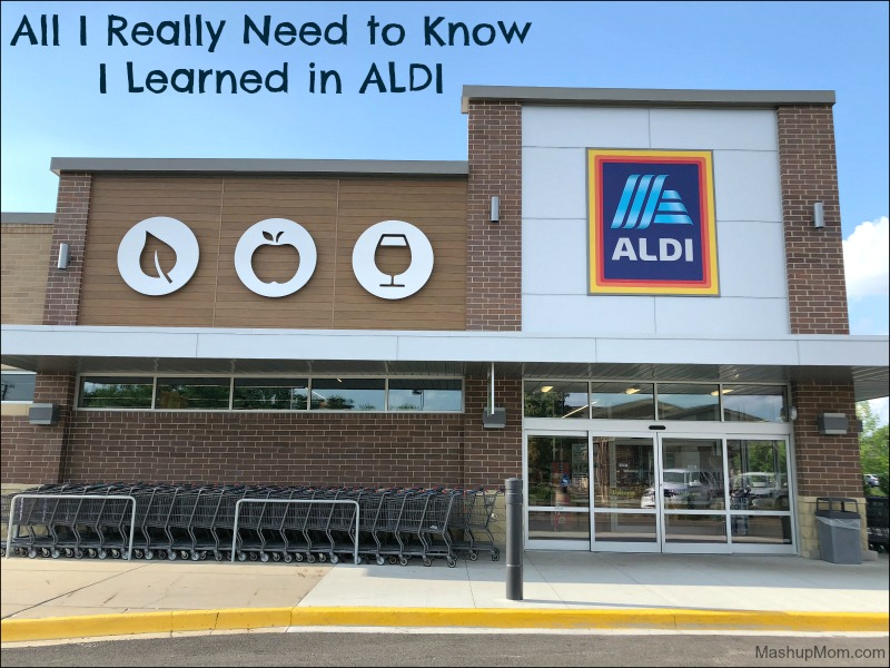 all I really need to know I learned in ALDI