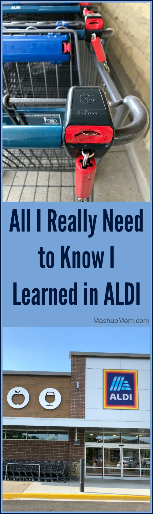 All I really need to know, I learned at ALDI