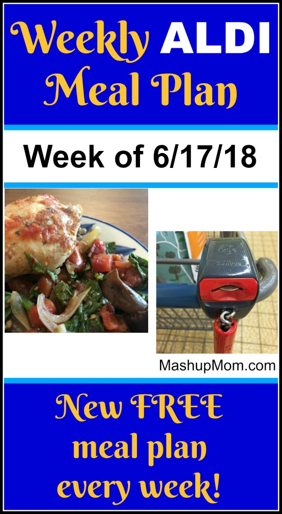 ALDI meal plan week of june 17 2018