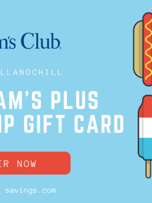 Sam's Club Grill & Chill Giveaway + Summer Cookout Deals