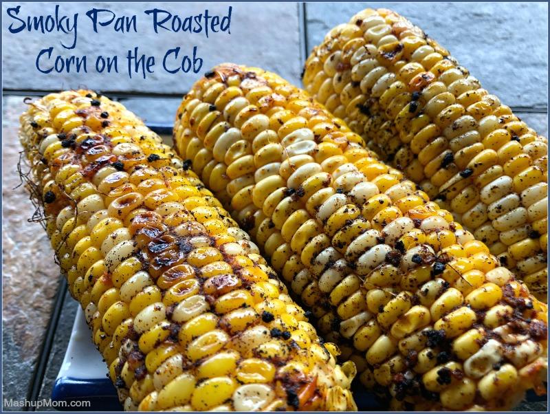 Smoky Pan Roasted Corn on the Cob