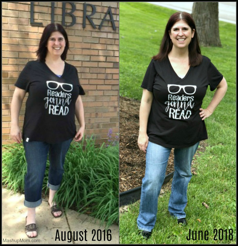 over halfway there -- 27 lbs down