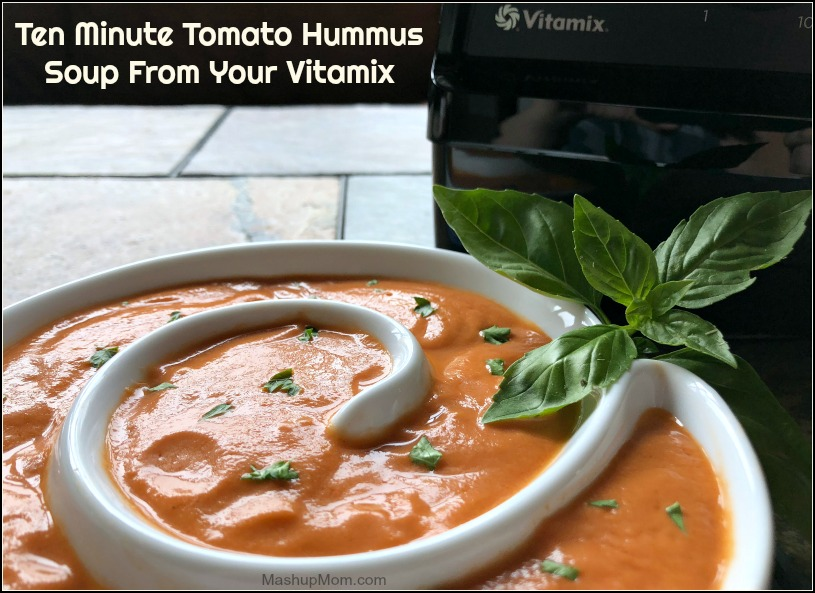 tomato hummus soup from your vitamix