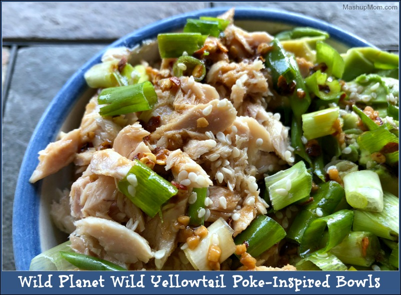 Wild Yellowtail Poke-inspired bowls -- so fresh and easy!