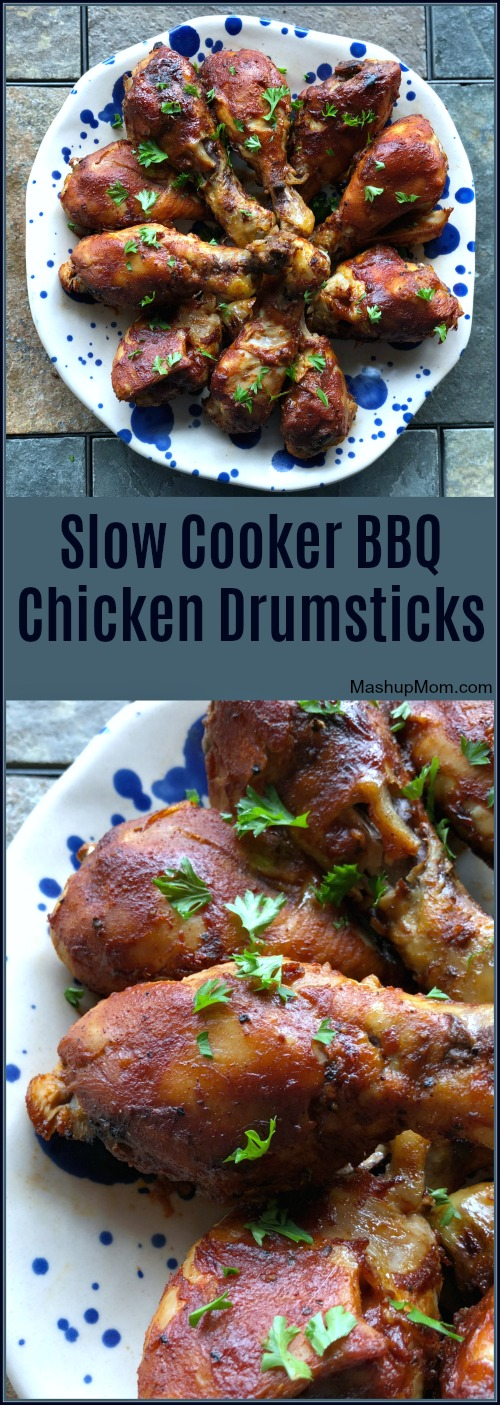 Crock-Pot BBQ chicken drumsticks