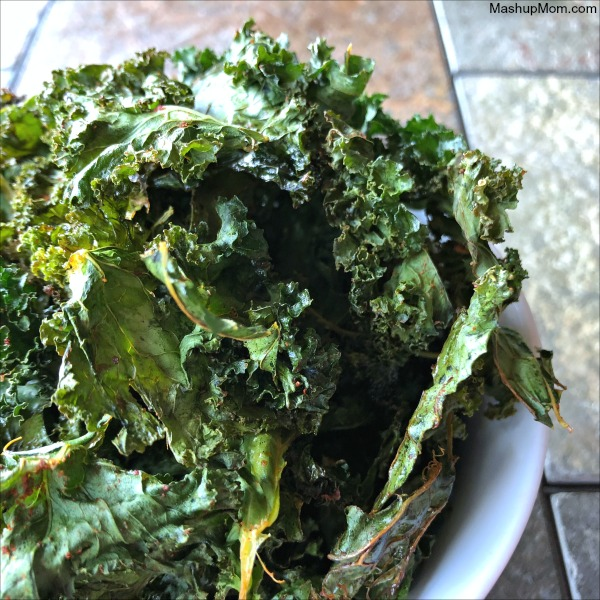 easy homemade kale chips + an imperfect produce review