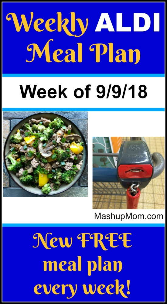 september 2018 aldi meal plan