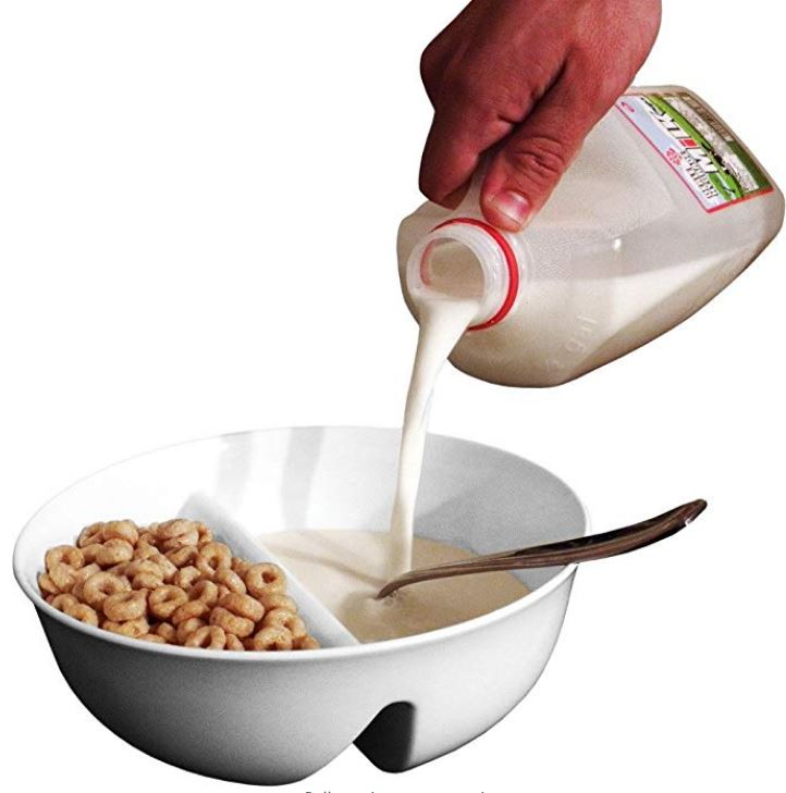 Quirky Finds 9/15/18 -- Just Crunch Anti-Soggy Cereal Bowl
