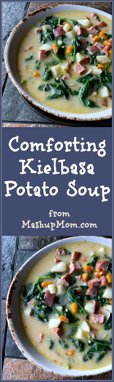 comforting kielbasa potato soup
