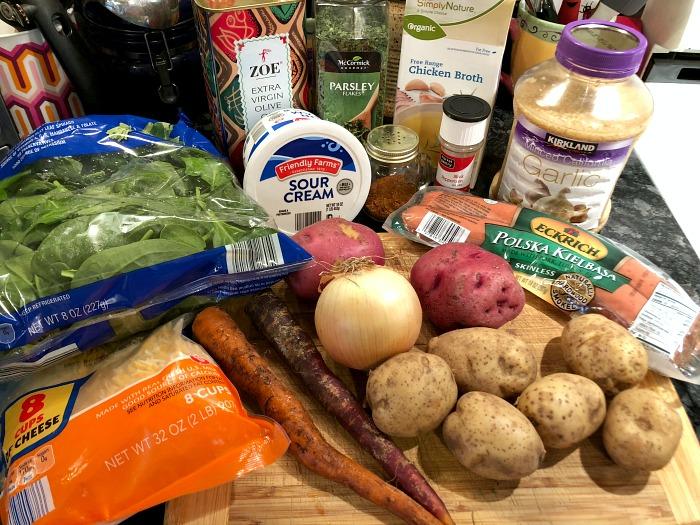sausage and potato soup ingredients