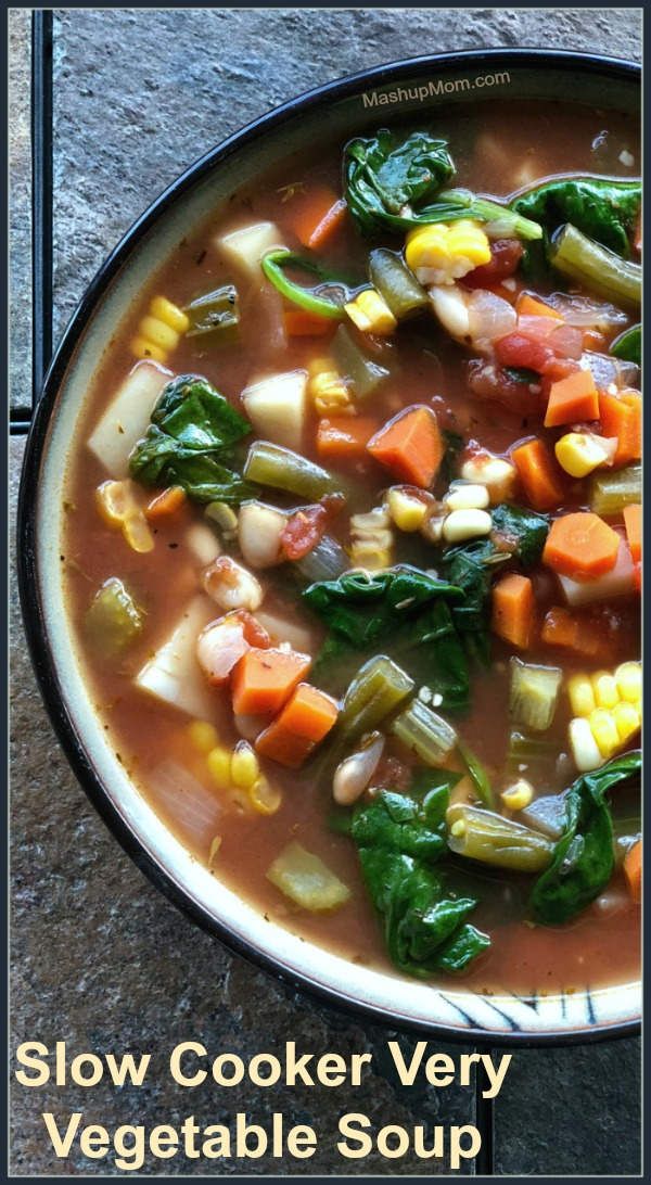 Crock-Pot vegetable soup