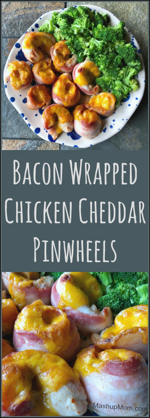 bacon wrapped chicken pinwheels