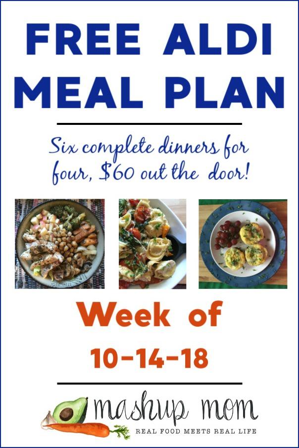 free aldi meal plan