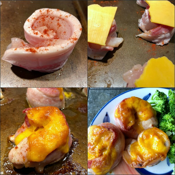 steps to chicken pinwheels