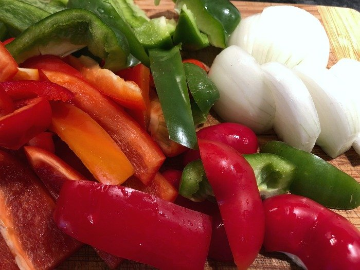 peppers and onions