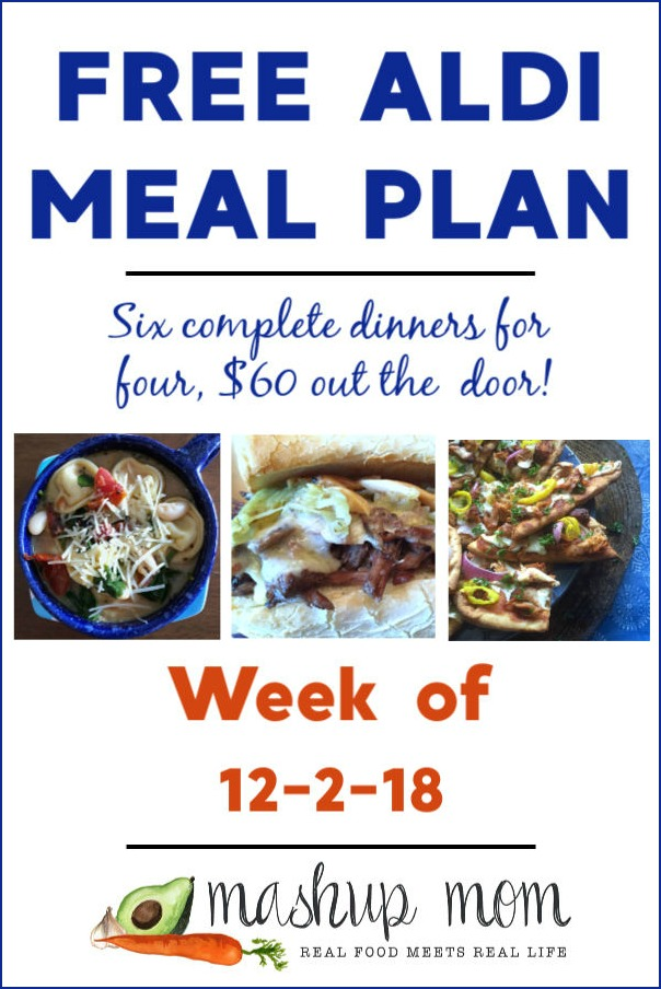free aldi meal plan