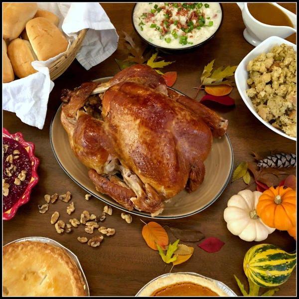 Thanksgiving feast from Boston Market