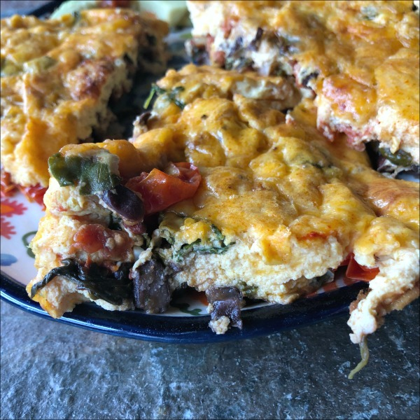 black bean frittata