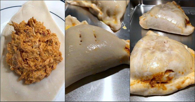 process of making sweet potato hand pies