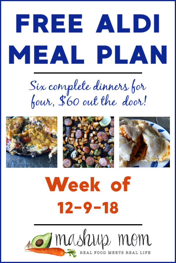 aldi meal plan week of 12/9/18