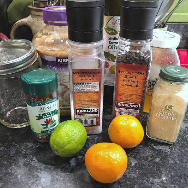 citrus-lime dressing ingredients