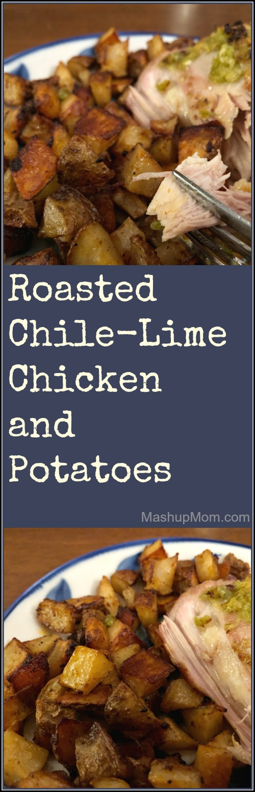roasted chile-lime chicken with potatoes