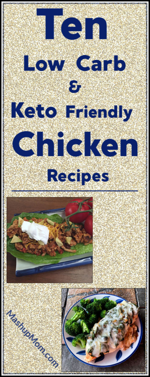 ten low carb & keto friendly chicken recipes