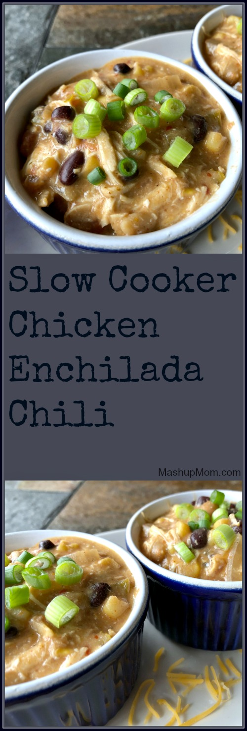 crock-pot chicken enchilada chili