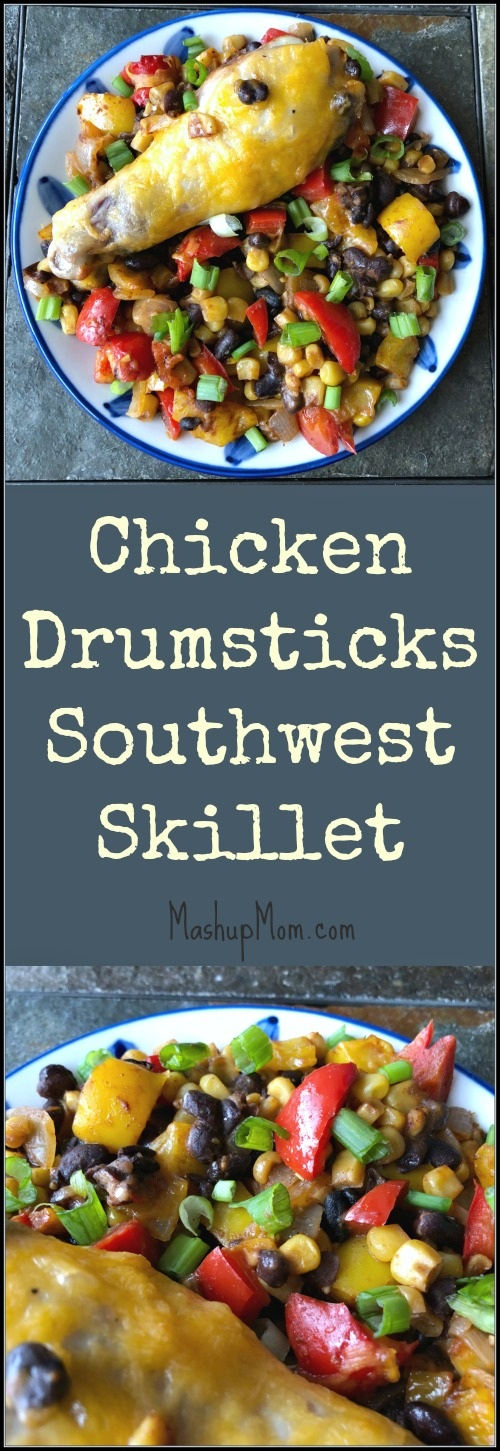 chicken drumsticks southwest skillet recipe