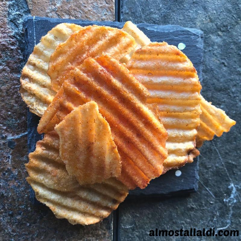 tandoori BBQ potato chips