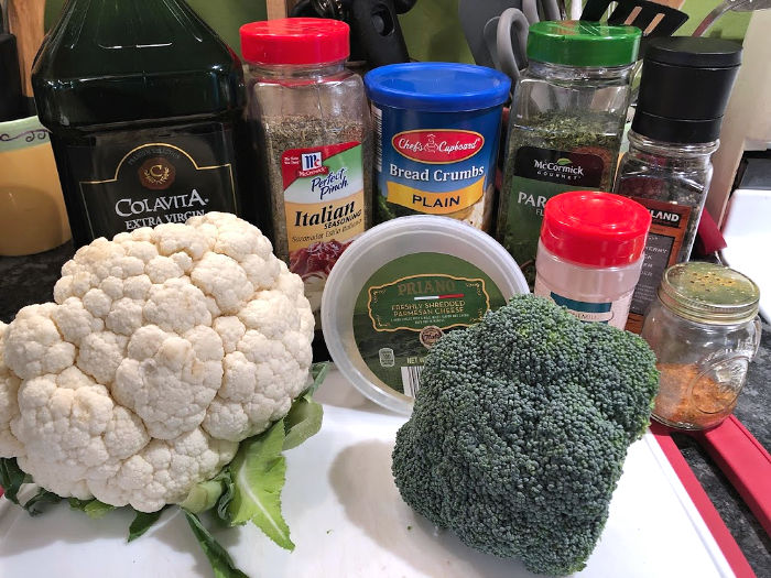 cruciferous crumble ingredients