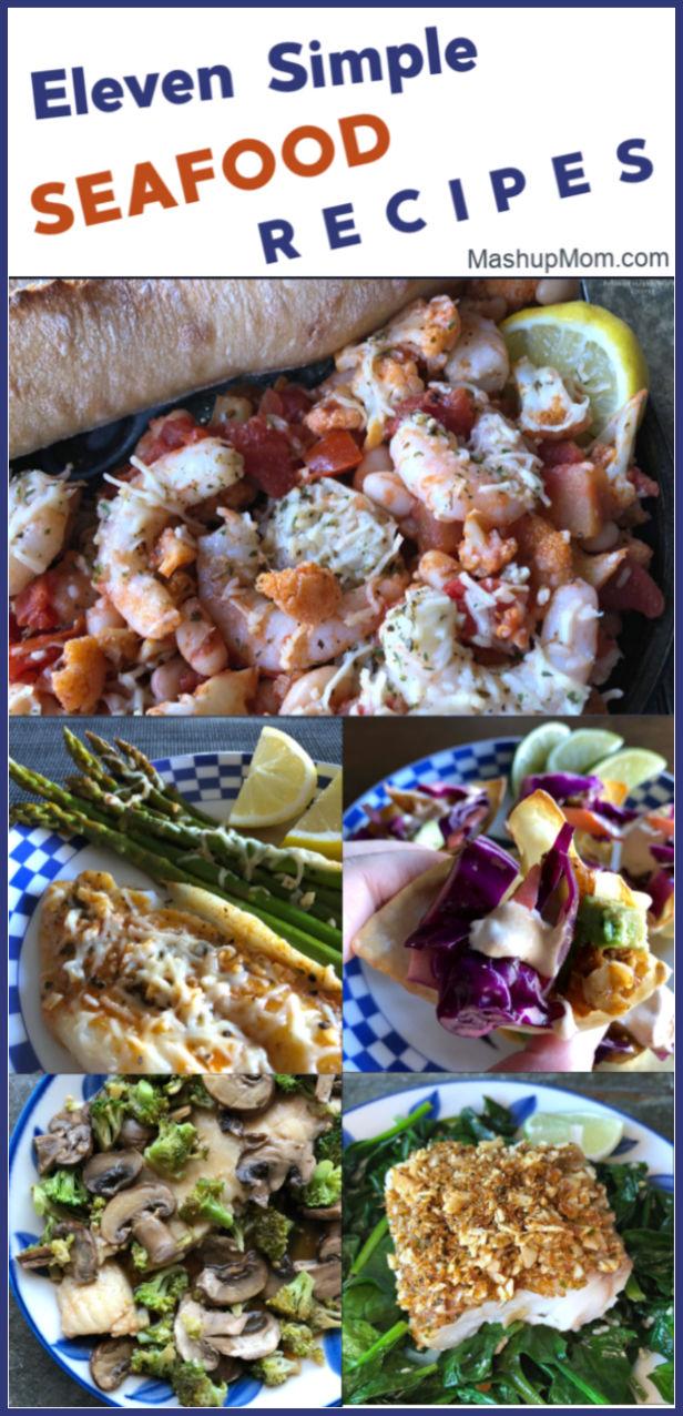 simple seafood recipes