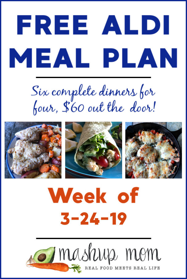 aldi meal plan week of 3/24/19