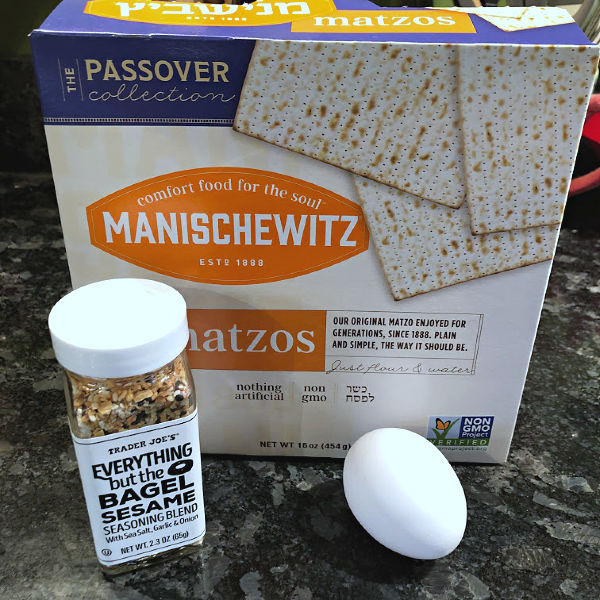 everything but the bagel matzo crackers ingredients