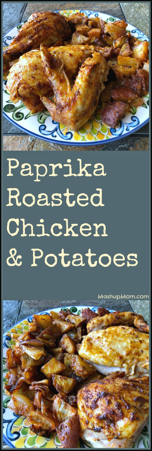 paprika roasted chicken recipe