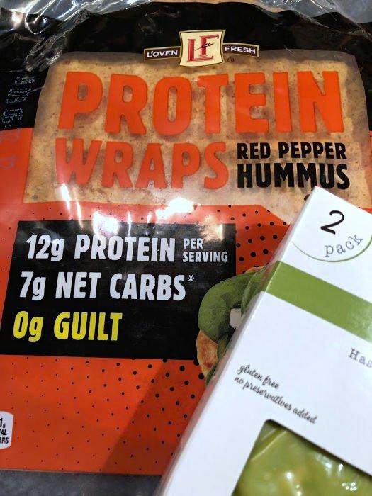 ALDI protein wraps